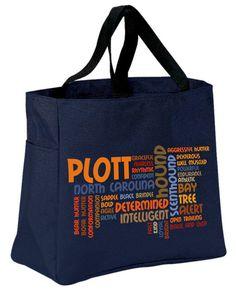 Plott Tote Bag by WryToastDesigns on Etsy, $20.00