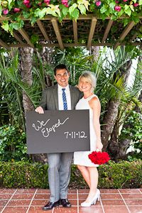 Elopement announcement... I would love to elope but some family members would never speak to me again lol !