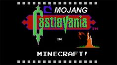 Some guy creates Castlevania in Minecraft...nice!