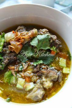 Azie Kitchen: Sup Tulang Yang Sangat Sedap