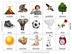 BLOG EDUKACYJNY DLA DZIECI: GRA MEMO - RZECZOWNIK, CZASOWNIK Gra, Playing Cards, Games, Logos, Speech Language Therapy, Gaming, A Logo, Cards, Game