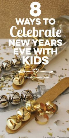 Having kids doesn't mean you can't have a great New Year's Eve. Check out these awesome ideas for a fun night home with your fam.