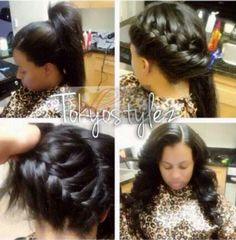 94 Best Sew In Techniques Images In 2019 Natural Hair