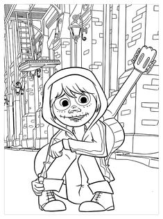 43 Best Coloring Pages Coco Images Coloring Pages Disney