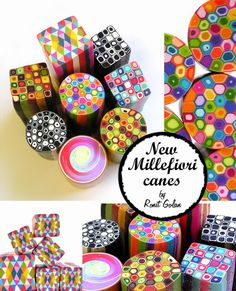 Ronit Golan - Polymer Clay Joy - Inspire to Create: New Millefiori Geometric Canes