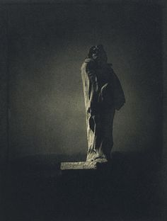 Edward Steichen, Picture of Auguste Rodin's sculpture of Honoré de Balzac (1911)