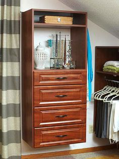 Get Storage Off the Floor Storage experts will tell you that floors are magnets for clutter. If you're revamping a closet, try lifting several storage units up off the floor to help better keep items in drawers and on shelves.