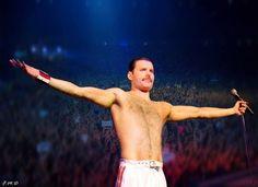Freddie Mercury is my personal God!