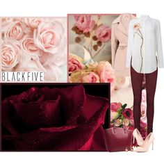 Blackfive.com by asia-12 on Polyvore featuring moda, Lavand., Vero Moda, River Island and BlackFive