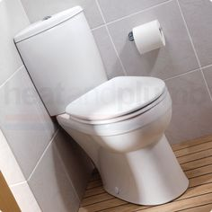 Close Coupled Corner Toilet ~ option for a smaller powder room