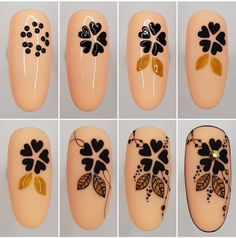 Nail design is an art. The great nail designer has completed a large number of nail art designs. If you haven't seen the process of nail design with your own eyes, you must want to know how beautiful nails are designed. New Nail Art, Nail Art Diy, Diy Nails, Cute Nails, Manicure, Nail Art Designs Videos, Nail Designs, Nail Art Techniques, Nail Art For Beginners
