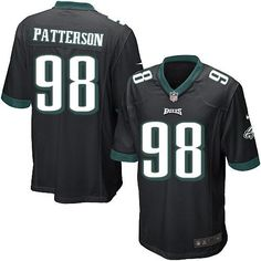 Nike NFL Philadelphia Eagles #98 Mike Patterson Limited Youth Black Alternate Jersey Sale