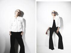 Rebel Look: Womens Marbleized Fast Fashion Half Cut Frame Cat Eye Sunglasses 9280