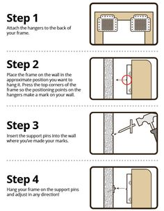 How to use the Beehive Picture Hanger in 4 simple steps #photography #kickstarter #crowdfunding