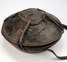 Oromo, Ethiopia. Bread/lunch container - The Israel Museum Permanent Galleries