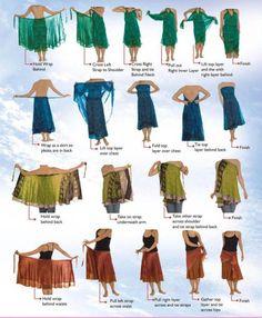 Multi-Wear Wrap - Ultimate Fall Collection by VIDA VIDA psXMDpkE