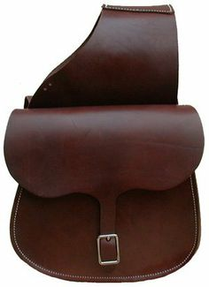 "All Leather X-Large Saddle Bag . $69.99. From The Wild West Days! An old time saddle bag constructed with extra heavy skirting leather. Large, convenient single buckle bags measure 12"" x 11"" with a 4 ½"" gusset. Made in USA."