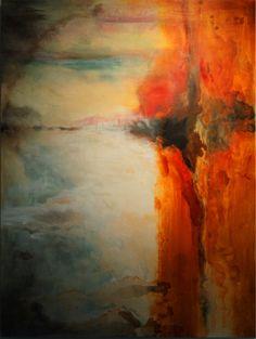 "Saatchi Online Artist: Ruth Jensen McGrath; Acrylic, 2012, Painting ""Promise"""