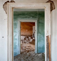 Onaards: Spookstad Kolmanskop in Namibië - Nieuws - Droomplekken