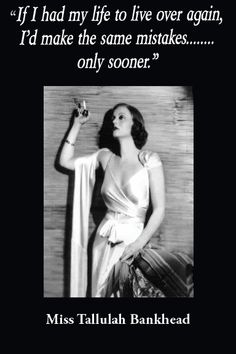 The Infamous Tallulah Bankhead