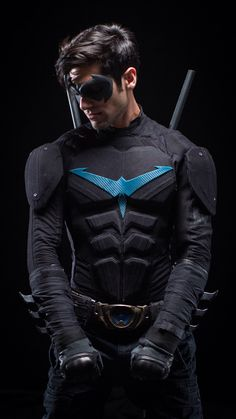 Nightwing (Danny Shepard) from a proposed Nightwing web series. Check out www.youtube.com/user/IsmaHAWK