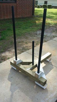 homemade prowler  faith and fitness  diy gym equipment