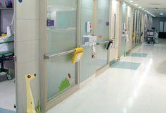 Landor Associates has created two distinct wayfinding systems for Great Ormond Street childrens' Hospital (GOSH)...
