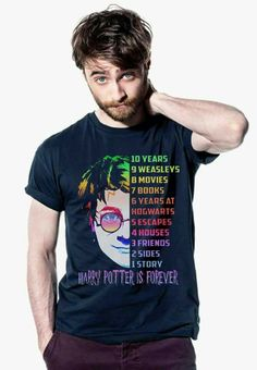 Harry Potter is forever. Harry Potter Items, Harry Potter Merchandise, Harry Potter Shirts, Harry Potter Style, Harry Potter Outfits, Harry Potter Facts, Harry Potter Fandom, Harry Potter World, Harry Potter Fashion