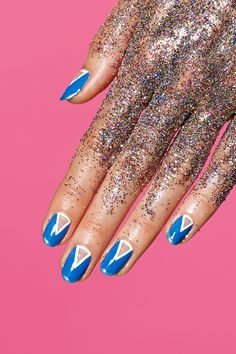 Horoscope Nail Art With Susan Miller #refinery29  http://www.refinery29.com/2014/05/68406/susan-miller-horoscope-nail-art#slide18  Colors Neon shades. (Aquarius is governed by Uranus, which rules electricity.) Bright cobalt blue, bright fuchsia, and anthracite gray (a bluish-teal gray with green undertones) are Aquarius colors. Aquarius is idiosyncratic, individualistic, and ahead of the curve, always, including fashion. Mood Ebullient. Aquarius' work is being praised, and as a result, more…