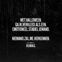 Halloween #RUMAG