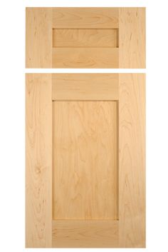 Shaker style cabinet door in select hard maple with stiles and rails by TaylorCraft Cabinet Door Company Shaker Style Cabinet Doors, Cabinet Door Designs, Cabinet Door Styles, Shaker Cabinets, Hampton Style, Bath Girls, Kitchen Doors, Stiles, Panel Doors