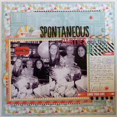 Spontaneous parties by TanyaH at Studio Calico
