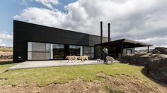 Completed in 2014 in Pocho, Argentina. Images by Gonzalo Viramonte. La Pampa de Pocho is an impressive place which makes the viewer fell in love with its silent and monochromatic landscape. The house lies at the...