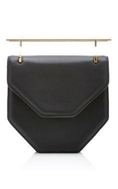 88b0caaafc11 Amor Fati Cross Body Black Leather Bag