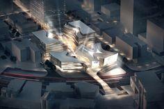 Pläne für Filmpalast von 3XN vorgestellt / Spanische Treppe für Shanghai - Architektur und Architekten - News / Meldungen / Nachrichten - Ba...