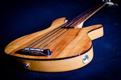 Rob Allen MB-2 Fretless Bass Guitar   by Ethan Prater