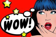 Comic Book Speech Bubble ,Pop Art Background Stock Vector