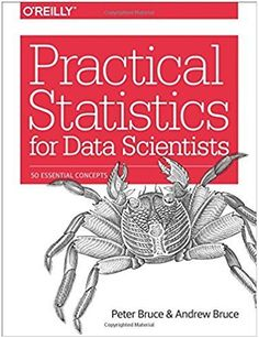 """Read """"Practical Statistics for Data Scientists 50 Essential Concepts"""" by Peter Bruce available from Rakuten Kobo. Statistical methods are a key part of of data science, yet very few data scientists have any formal statistics training. Data Science, Science Des Données, Science Resources, Science Books, Big Data, Exploratory Data Analysis, Machine Learning Methods, Online Math Courses, It Pdf"""