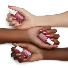 give your nails some TLC with NEW treat love & color. get your 'a-game' on with our first advanced 1-step care & color nail polish! experience stronger nails in just one week with 60% less peeling and 35% less breakage! essie treat love & color nail treatment comes in a range of shades - from baby pink to nude gray tones to creamy white nail colors and mauve nail polish. shop 'a-game' and the full range now on essie.com