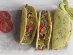 Dollhouse Miniature Beef Tacos on a Board, Dollhouse Tacos, Miniature Food in 1:12 scale by miniThaiss on Etsy
