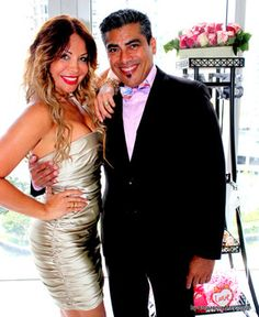 The bride and groom to-be: Lissette Rondon and Frank Diaz.