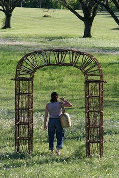 twig and vine garden archway  $549.00