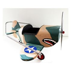 great vintage kids prop plane!! etsy. $250.