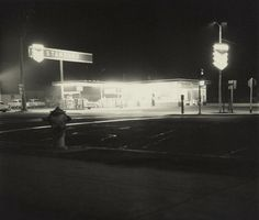 Ed Ruscha, Twentysix Gasoline Stations: œStandard, Figueroa Street, Los Angeles, taken in 1962
