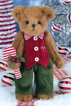Bearington Bears - Parker and Peppermint. Try to get one donated for gala. Offer it as a item to raffle, with a note of this is an item we out in our bags.