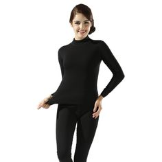 2016 winter new women's thick velvet high collar cotton thermal underwear sets Ms. thick warm long johns plus size women longies
