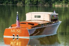 Two Chris-Craft Speedboats Set To Cross The Block At RM Hershey Pennsylvania Auction Speed Boats, Power Boats, Ski Nautique, Chris Craft Boats, Classic Wooden Boats, Boat Design, Yacht Design, Cabin Cruiser, Vintage Boats