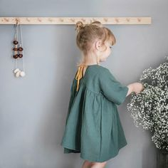 liilu dress handmade in germany organic cotton musselin soft and cosy
