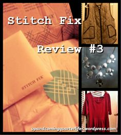 Stitch Fix Review #3 #stitchfix #fashion #clothes upandcomingquarterlifer.wordpress.com