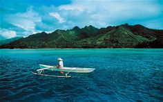 Moorea, one of the Society Islands, near #Tahiti    http://on.fb.me/ShXNer